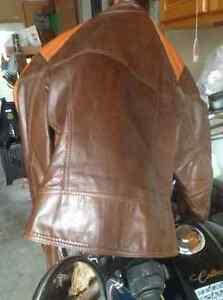 Jacket/vintage Bristol motorcycle leather jacket cafe racer Gatineau Ottawa / Gatineau Area image 4