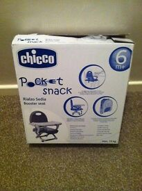 New chicco pocket snack booster seat