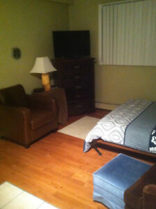 Cathedral Furnished Bachelor Condo Dec 15th!