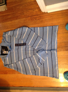 Men's CLUB ROOM long sleeve cotton knit shirt NEVER WORN