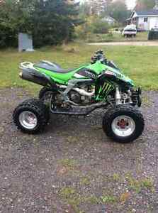 2008 kfx 450, nice bike, has papers, 3300$