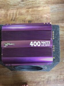 400 Watt Sub-woofer Car Amplifier
