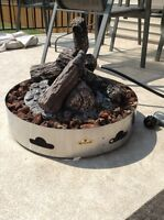 Napoleon Patioflame propane fire pit