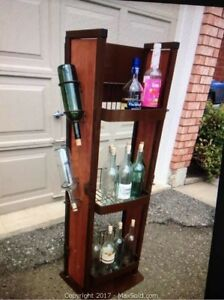 Large wine bottle stand - good condition