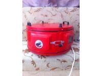 Steam roast rotary cooker