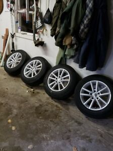 """17"""" Mag Wheels from 2012 Dodge Journey.  Can replace 19"""" tires."""