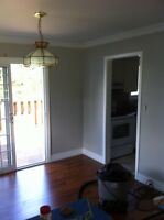Good rates and a professional painter