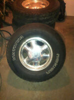 Tires & Rims for GM Truck or SUV
