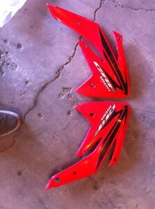 Crf 150 side covers