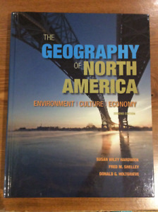 The Geography of North America, 2nd Edition by Hardwick