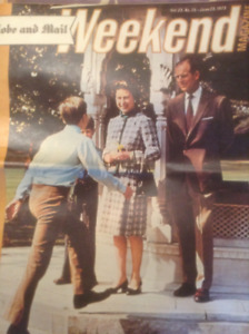 Vintage:  The Royal Family Magazines for sale (3)