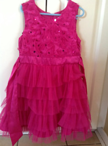 2 fancy dresses (size 4/5 and 6/6x)
