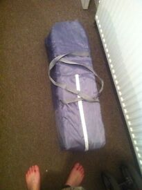 Need gone ASAP BabyStart Travel Cot - Grey and Green