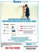 Wedding / Bridal Show Free Admission hoted by Sears Travel