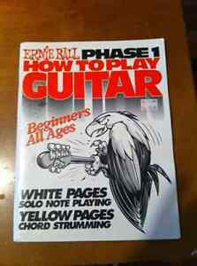 Guitar learning book