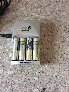 Chargeur à batteries