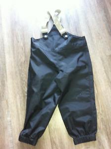 Kids splash pants size 3