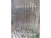 Ten Heavy-Duty 5ft Steel Fence Posts