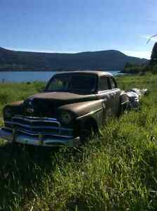 Restorable, lots of Chrome, great rat rod! Williams Lake Cariboo Area image 3