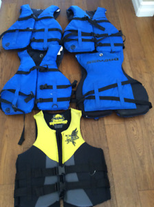Life jackets- $20 each or 5 for $80