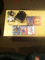 Gamecube + 2 manettes + 5 jeux + memory card