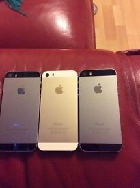 iPhone 5s 16 GB unlocked to all networks all colours available