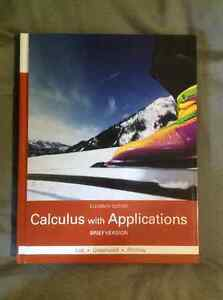 Calculus With Applications 11th Edition Brief Version