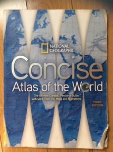 National Geographic, Concise Atlas of the World 3rd ed.