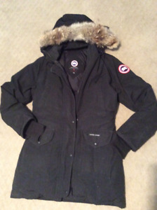 Women's Black Canada Goose Coat