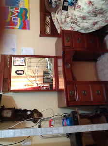 """ANTIQUE MAHOGANY BEDROOM FURNITURE """"Individually PRICED"""""""