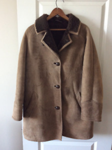 RICHARD DRAPER WARM WINTER COAT | SHEEP SKIN Shell/WOOL Interior