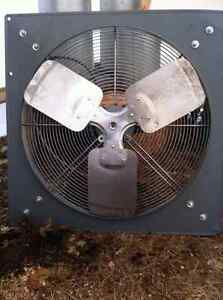 Industrial Panel Fan 24 inch (diameter)-Hardwired