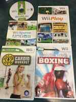 Wii games and balance board