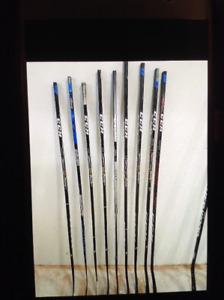 Integral Hockey stick repair...plus high end sticks for cheap