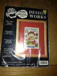 NEW COUNTED CROSS STITCH KIT IN PACKAGE