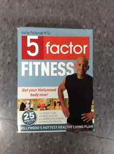 5 Factor Fitness DVD set with Diet Journal Cambridge Kitchener Area image 1