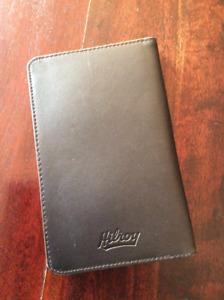 Black Hilroy Business Card Holder 16pages