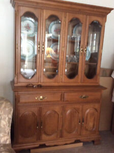 BUFFET/HUTCH in Solid Maple