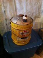 Selling a old irving can