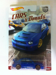 Hot Wheels Cars and Donuts Car Culture Subaru Impreza WRX