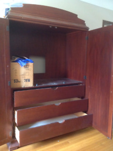 FREE!! TV armoire cabinet.