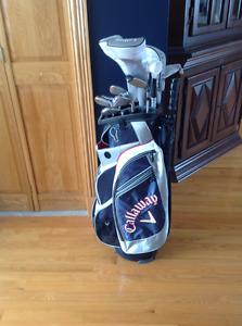 Ensemble gaucher de golf pour femme