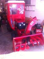 Tracteur toro 20hp avec souffleuse a neige