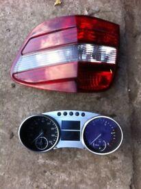 Mercedes clocks and bk light