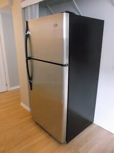 Stainless steel fridge made by Haier