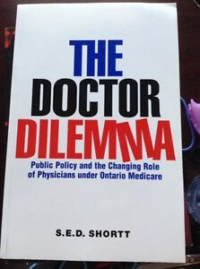 The Doctor Dilemma - by :S.E.D.Shortt