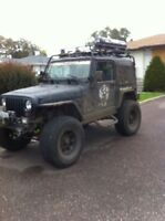 """Jeep TJ 6"""" Long-Arm Lift and Poison Spider Fenders"""