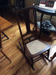 Lovely Antique wooden Rocking Chair