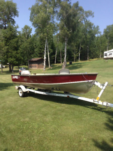 16 FOOT LUND WITH 25 YAMAHA