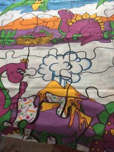 Fabric for kids room